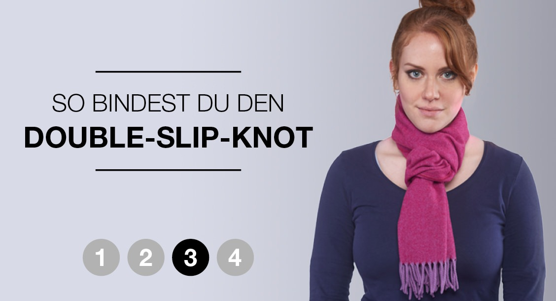 So bindest du den Double-Slip-Knot