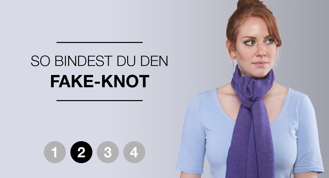 So bindest du den Fake-Knot