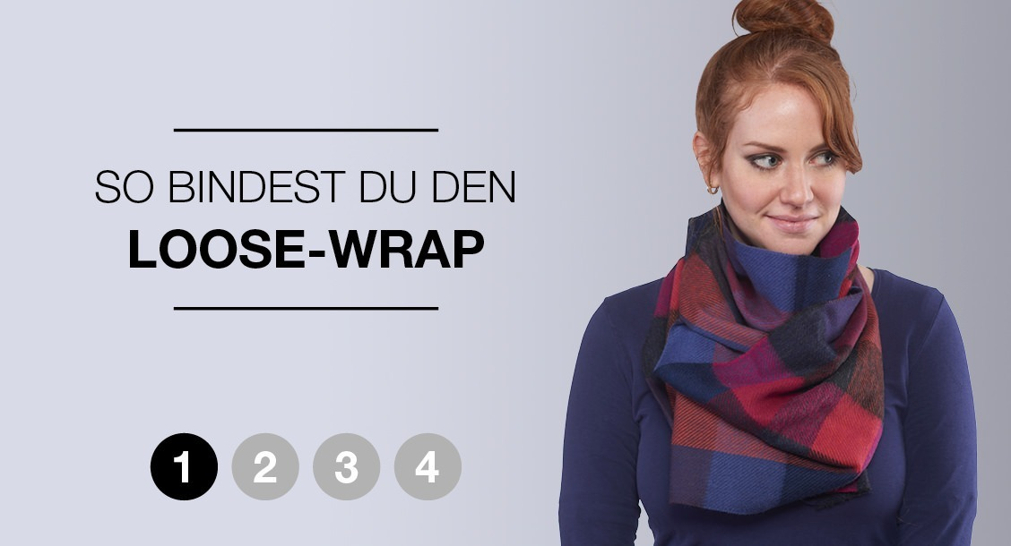 So bindest du den Loose-Wrap